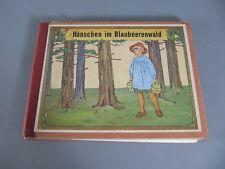 Hänschen im Blaubeerwald Bilderbuch Elsa Beskow Loewes Verlag um 1930