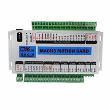 Mach3 4 Axis CNC Motion Control USB Card Breakout Board 400KHz Support Windows7
