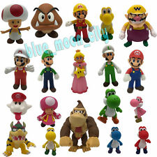 New Super Mario Bros. Wii Characters Collectible Plastic Action Figure Toy Gift