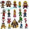 New Super Mario Bros. Wii Characters Collectible Plastic PVC Action Figure Toy
