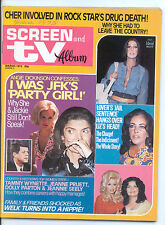 SCREEN & TV ALBUM  March 1975 (3/75) - Complete Issue