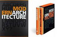 2 VOL. Modern architecture L'architettura moderna dalla A alla Z-TASCHEN-NUOVO!!