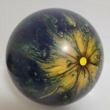 Ebonite Magnum Bowling Ball 12lb Blue/gold Swirl
