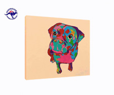 'Good Doggy' Oil Painting  - CLEARANCE SALE - $ 1 Auction Bargain