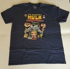 27226fc26640c2 Funko Pop Tees The Incredible Hulk T-Shirt X-Large XL Marvel Collector Corps