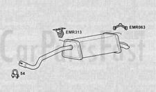 EXHAUST REAR BACK BOX Skoda Fabia 1.9 Diesel Estate 02/2001 to 12/2007