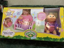 Cabbage Patch Kids Doll Tiny Newborn Dream'n Cuddle Bedtime Set New NIB
