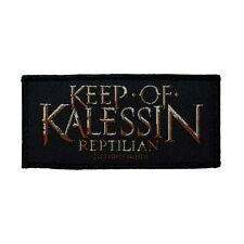 """""""Keep of Kalessin Reptilian"""" Album Logo Extreme Metal Band Sew On Applique Patch"""