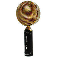 Cascade Fat Head Short Ribbon Microphone Brown / Gold + Free Shipping!