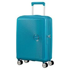 Maleta Spinner de cabina American Tourister Soundbox Summer Blue