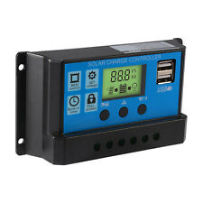 30A Solar Laderegler 12V-24V Solarregler Controller Regulator Ampere LCD Display