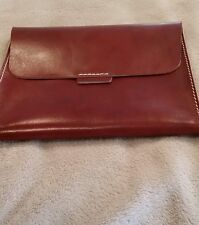 NEW MARK AND GRAHAM BROWN LEATHER IPAD / SAMSUNG GALAXY CASE / COVER / SLEEVE.