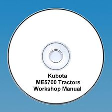 Kubota ME5700 Tractor  Workshop Manual