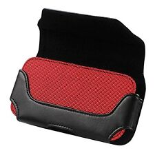 REIKO LEATHER HORIZONTAL POUCH SAMSUNG Note 3,4,5 Red INTERIOR 6.62X3.46X0.68