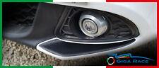 adesivi auto alfa romeo giulietta paraurti paracolpi sticker decal carbonlook 4D