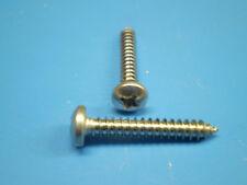 30 vis à tôle acier inox V2A 2,2 x 13 mm DIN 7981 va A2