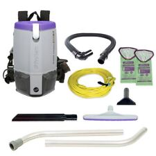 ProTeam Super Coach Pro 6 HEPA Back Pack Vacuum 107308 and 50 FREE Bags