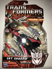 Transformers Sky Shadow Action Figure Generations Deluxe Class RARE