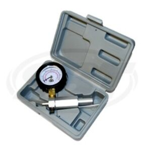 Pop Off Pressure Pump for Mikuni and Keihn Carbs 60 PSI gauge