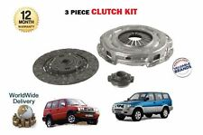 Per Ford Maverick Nissan Terrano 2 2.7 td27ti MOTORE 1996 -- > 3 Pezzi Kit Frizione