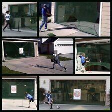 Hit It Sports Net Golf Baseball Soccer Garage Door Opening Practice Nets Hit-It