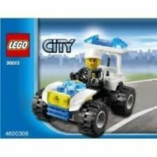 LEGO 30013 City Police Quad Bike Poly Bag New Sealed