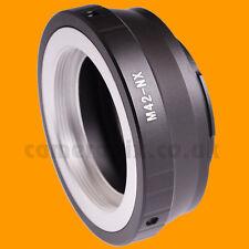 M42 Screw Thread Lens to Samsung NX camera Mount Adapter Converter NX500 NX3000