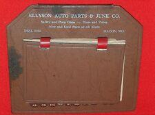 Vintage  1940's  Ellyson Auto Parts, Macon, Missouri  Phone & Address book
