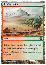 MTG SHIVAN OASIS - OASI DI SHIV - 8TH - MAGIC