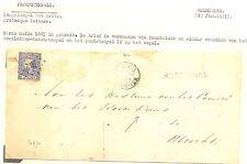 NEDERLAND 1869 LETTER COVER  LS=ROZENBURG= AAN HET = ROODE KRUIS = UTRECHT FRAAI