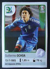 Panini 89 Guillermo Ochoa Mexico Confed Cup 2013 Brasilien