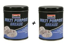 2x Granville Multi Purpose LM2 Lithium EP Grease Quality Lubricant Protects 500g