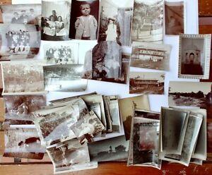 120 x  Vintage Photograph old print