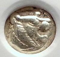 LYDIA Kings Alyattes - Kroisos TIME ELECTRUM Archaic 610BC Greek Coin NGC i77373
