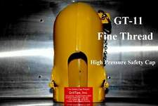 GRIFTAN HIGH PRESSURE CYLINDER SAFETY CAP - GT-11 FINE THREAD - OXYGEN ARGON