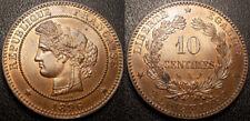France - IIIème République - 10 centimes Cérès 1896 SPL ! F.135/41