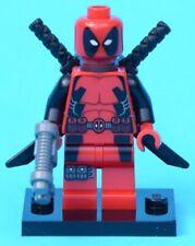 LEGO Deadpool Minifig / Minifigure from 6866 - Wolverine's Chopper Showdown 2012