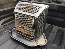 Antique 1800s Godin Guise Aisne Wood Coal Stove Fireplace French Enameled Parlor