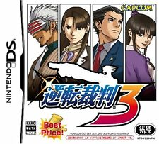 UsedGame DS Gyakuten Saiban 3 Best Price Phoenix Wright Ace Attorney Trials