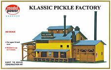 Model Power HO Scale Structure Kit - Klassic Pickle Factory