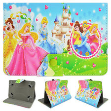 Kids Buckle Leather Stand Flip Covers Back Tablet Cases For Samsung Galaxy Tab