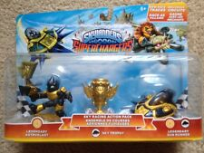 Skylanders Superchargers Action Pack Legendary Astroblast Sky Trophy Sun Runner
