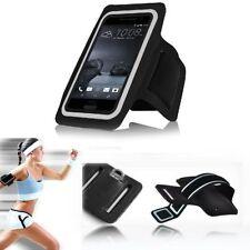 Étuis, housses et coques brassards noirs HTC One pour téléphone mobile et assistant personnel (PDA)