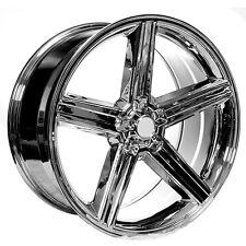 """4pcs 22"""" IROC Wheels Chrome 5-lugs Rims"""