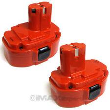2 x 18V 2000mAh Ni-Cd Rechargeable Pod Style Battery for Makita Power Tools