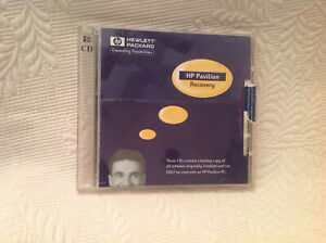 HP Pavilion Recovery (2) Disc~Disk~CD Set Late 90s System Application Recovery