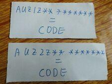 Audi Navigation PLUS,RNS E.D AISIN E,BNS 5.0 Fast Unlock Code decode same day