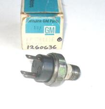 NOS 1978-81 CHEVY PONTIAC BUICK OLDS OIL PRESSURE SWITCH 231 4.1 196 ENG.1260636
