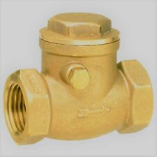 3/4 FIP Brass 200 WATER,OIL,GAS Swing Check Valve Threaded Plumbing Fitting