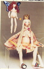 SALE - PATTERN - Domestic Goddess & Fertility Fairy  - fun cloth doll PATTERN